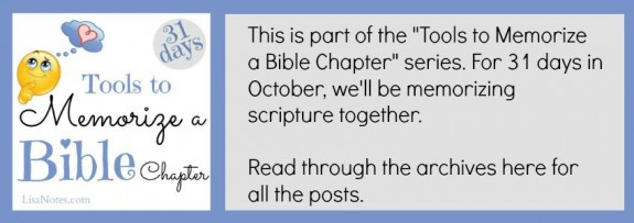 31-days-memorize-bible-chapter