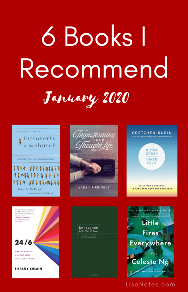Books I Recommend January 2020